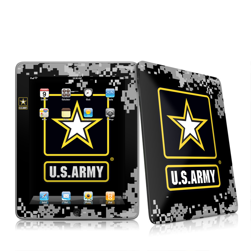 Army Pride Apple iPad 1st Gen Skin