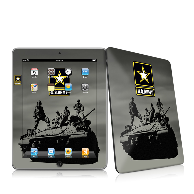 Army Troop Apple iPad 1st Gen Skin