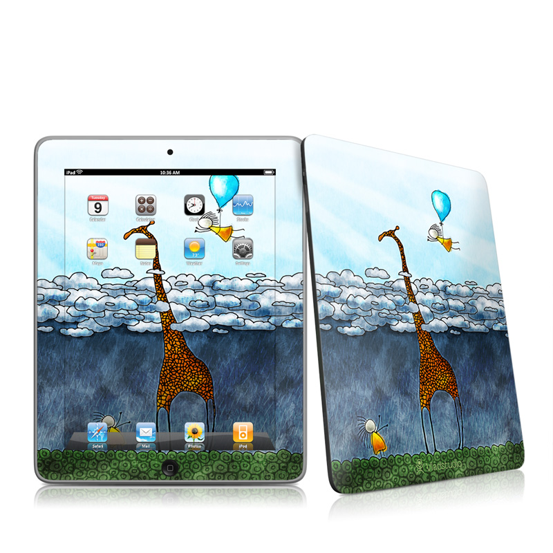 Above The Clouds iPad 1st Gen Skin