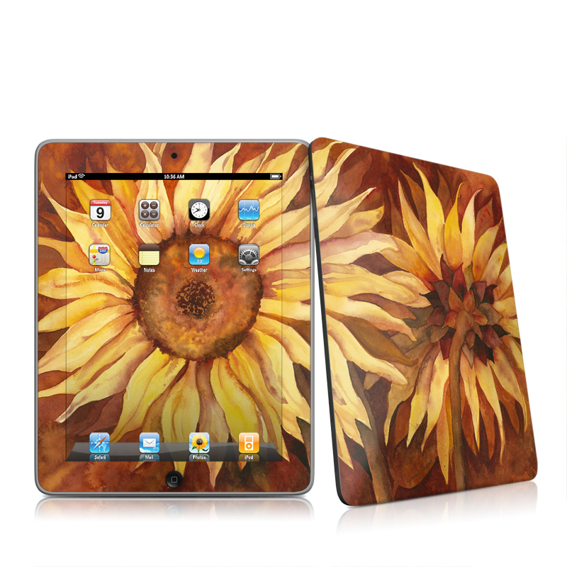 Autumn Beauty Apple iPad 1st Gen Skin