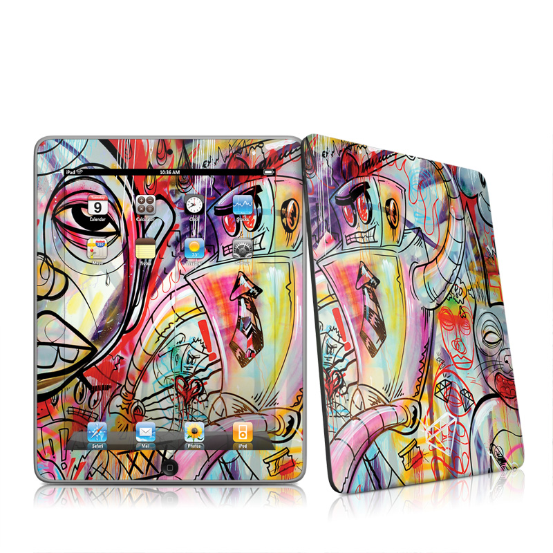 Battery Acid Meltdown iPad 1st Gen Skin