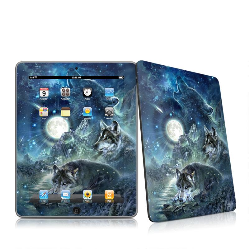 Bark At The Moon Apple iPad 1st Gen Skin