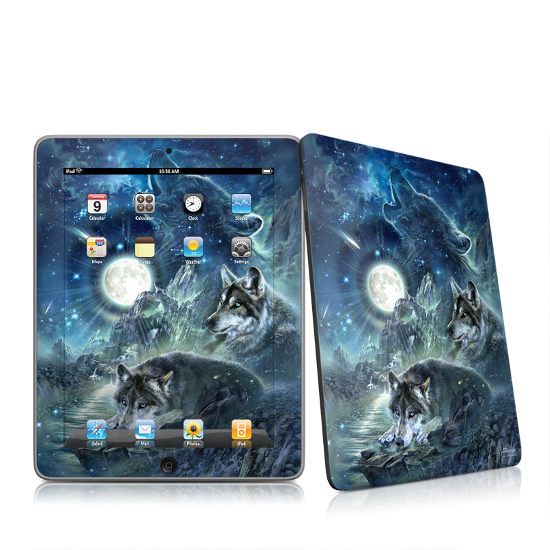 Bark At The Moon iPad 1st Gen Skin