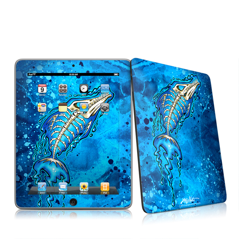 Barracuda Bones Apple iPad 1st Gen Skin