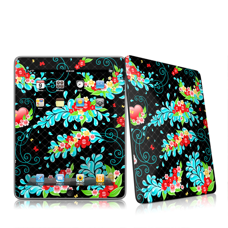 Betty Apple iPad 1st Gen Skin