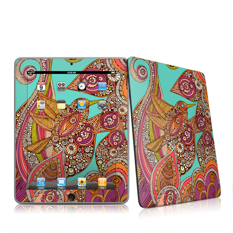 Bird In Paradise iPad 1st Gen Skin
