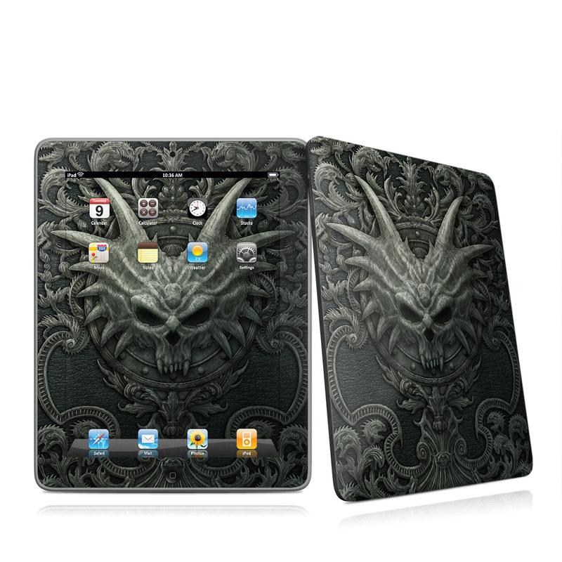 Black Book iPad 1st Gen Skin