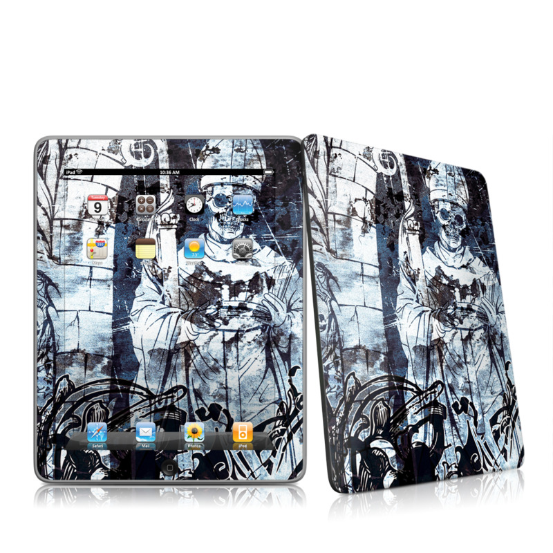 Black Mass Apple iPad 1st Gen Skin