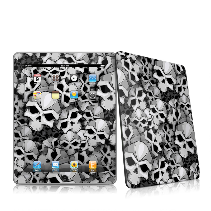 Bones Apple iPad 1st Gen Skin