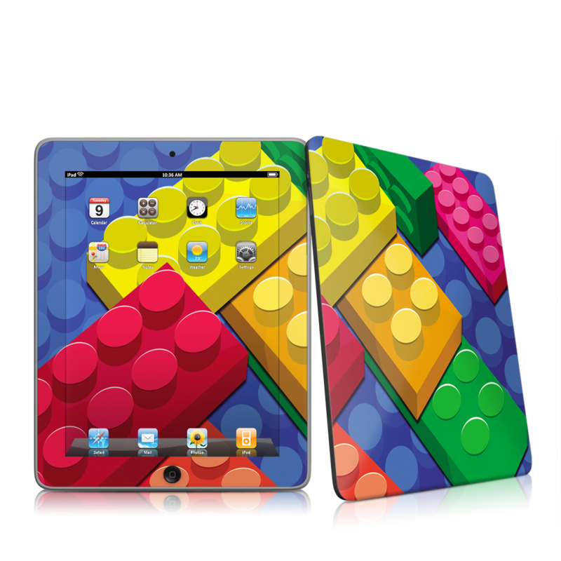 Bricks iPad 1st Gen Skin