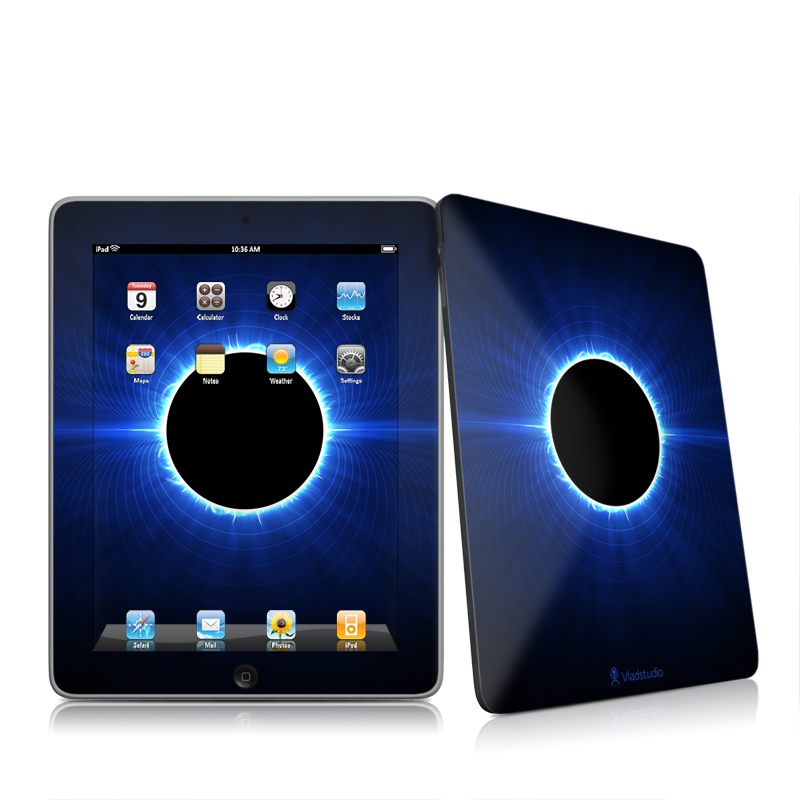 Blue Star Eclipse Apple iPad 1st Gen Skin