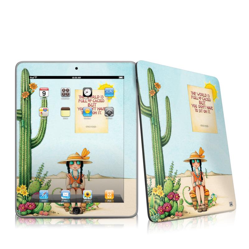 Cactus iPad 1st Gen Skin