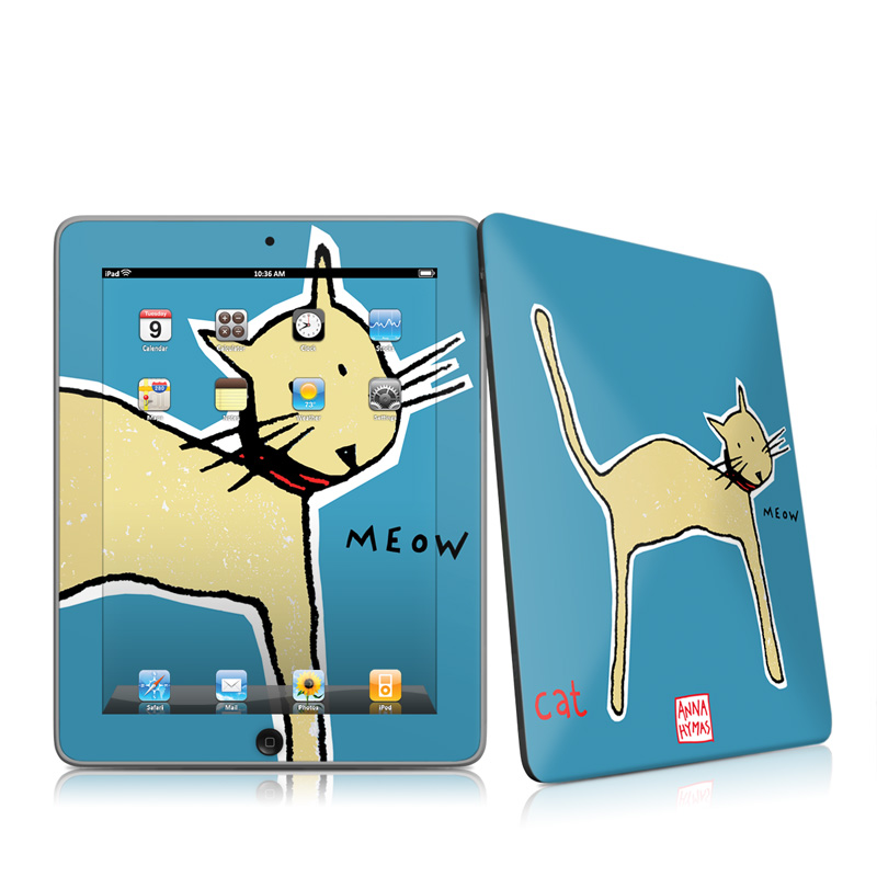 Cat Apple iPad 1st Gen Skin