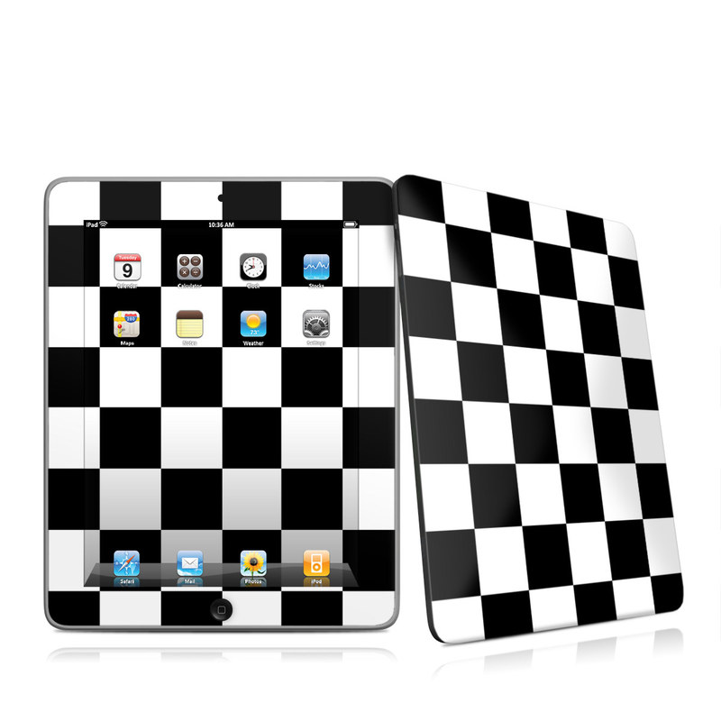 Checkers Apple iPad 1st Gen Skin