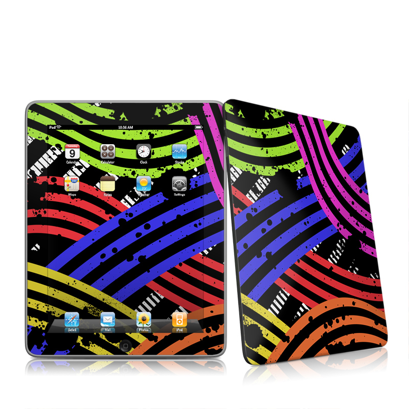 Color Flow Apple iPad 1st Gen Skin