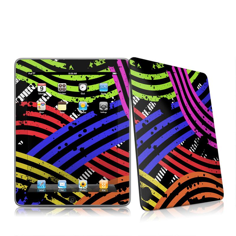 Color Flow Apple iPad 1st Gen Skin