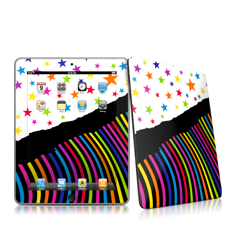 Color Wave iPad 1st Gen Skin