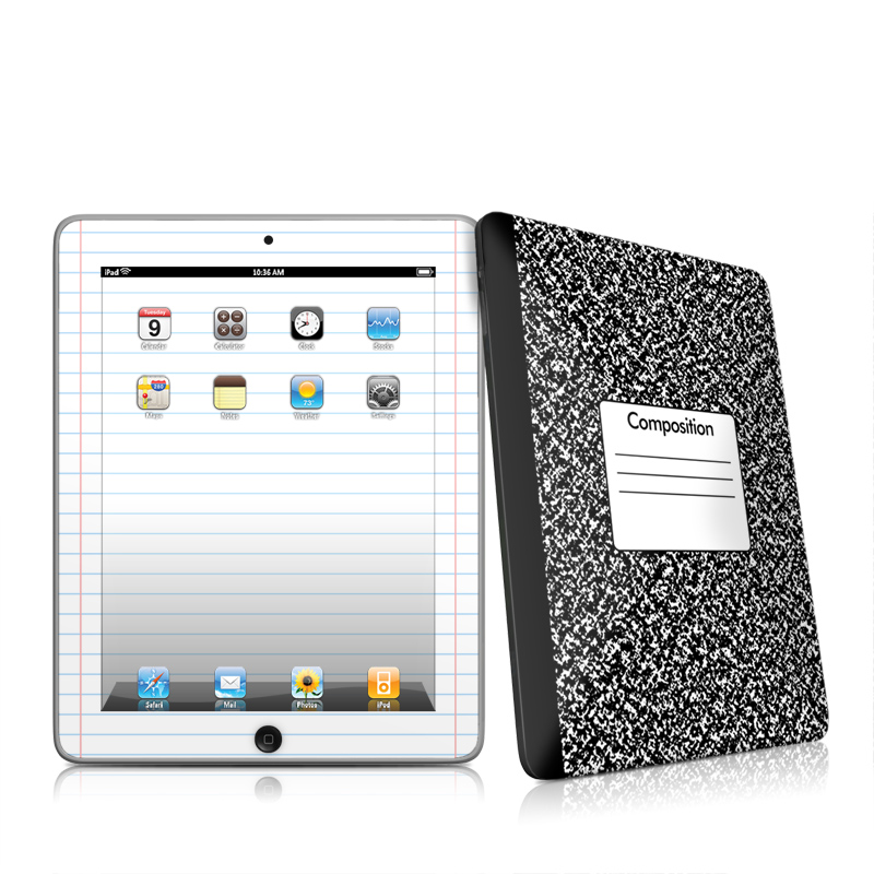 Composition Notebook iPad 1st Gen Skin