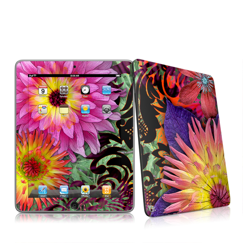 Cosmic Damask iPad 1st Gen Skin