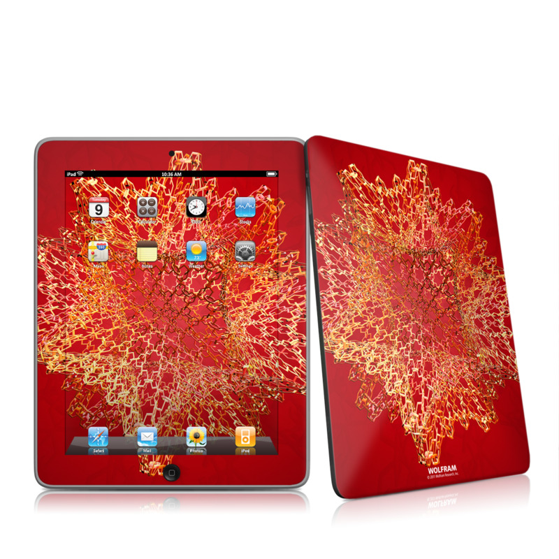 Dodecahedron Cage Apple iPad 1st Gen Skin