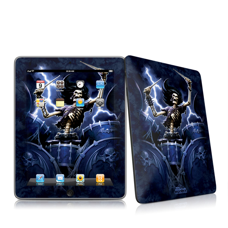 Death Drummer Apple iPad 1st Gen Skin