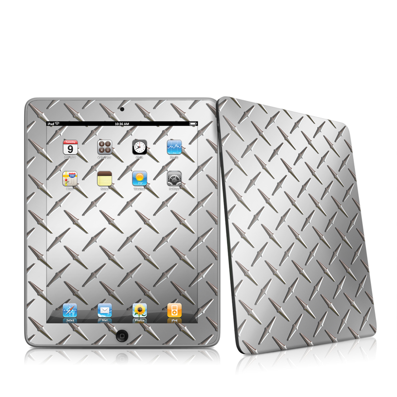 Diamond Plate iPad 1st Gen Skin