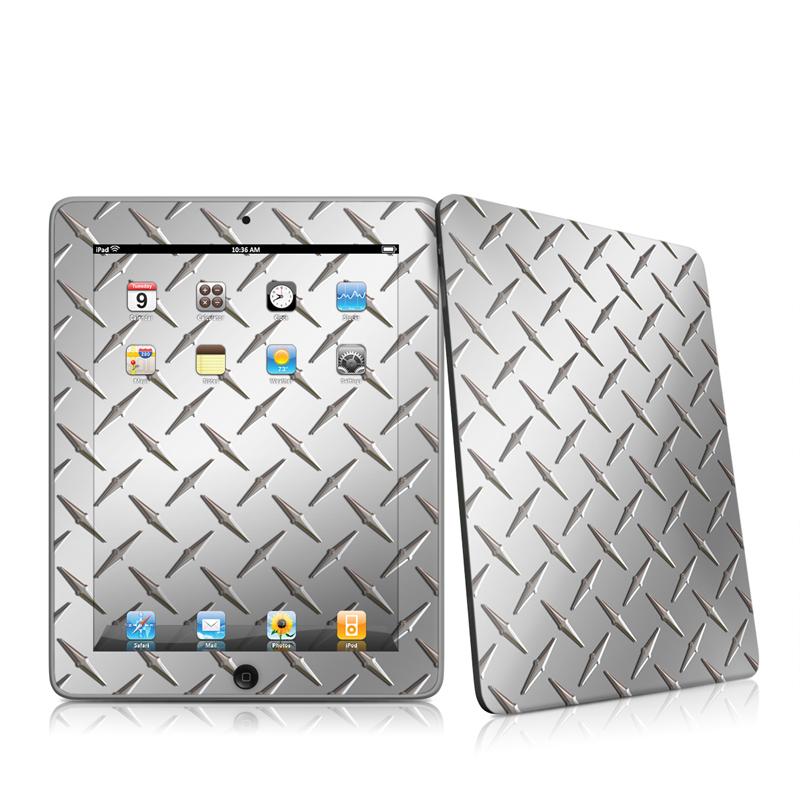 Diamond Plate Apple iPad 1st Gen Skin