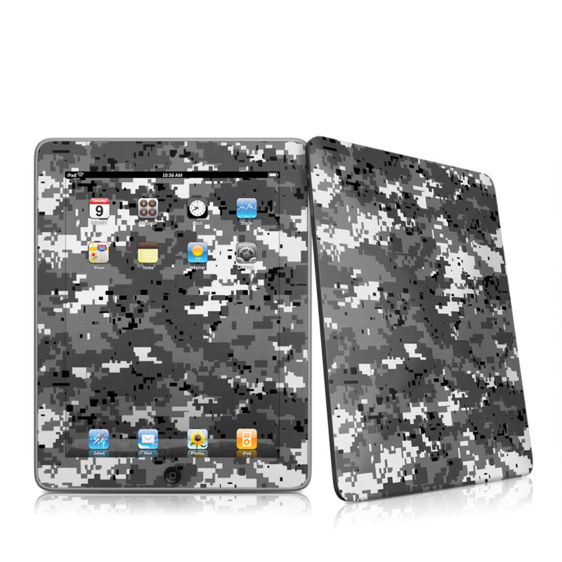 Digital Urban Camo iPad 1st Gen Skin