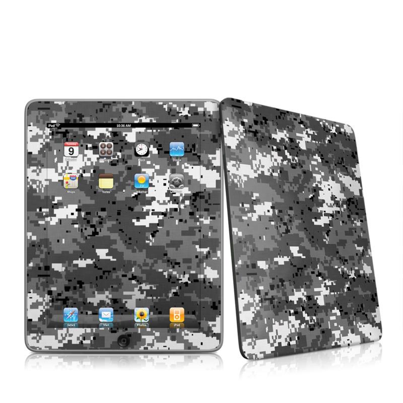 Digital Urban Camo Apple iPad 1st Gen Skin