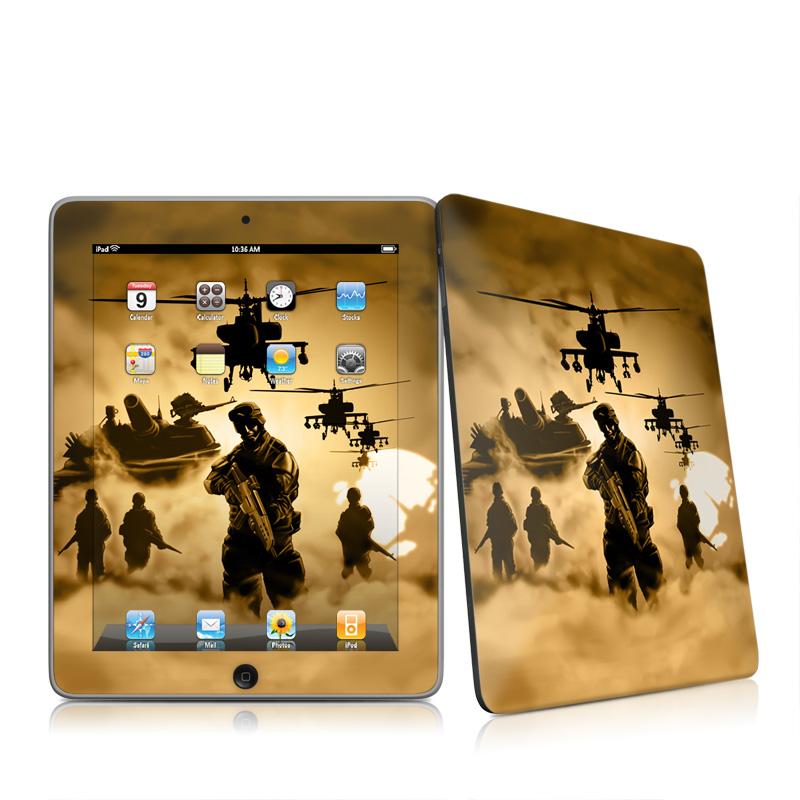 Desert Ops Apple iPad 1st Gen Skin