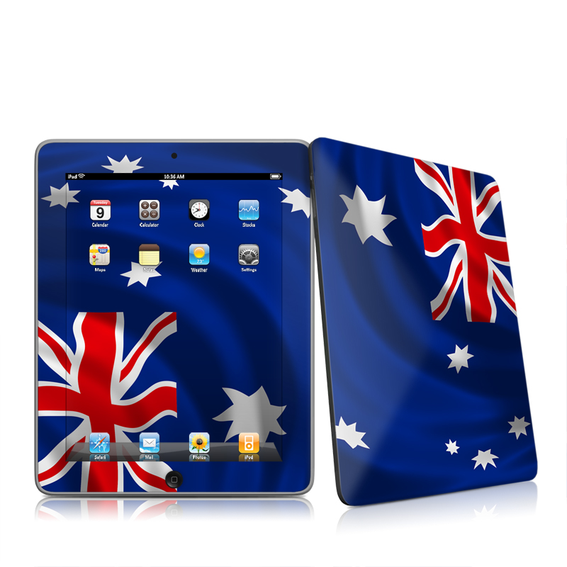 Down Under iPad 1st Gen Skin