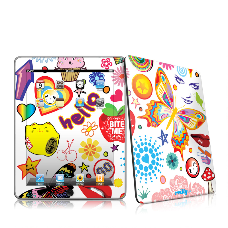 Eye Candy Apple iPad 1st Gen Skin