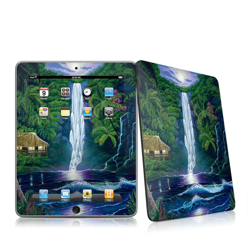 In The Falls Of Light iPad 1st Gen Skin