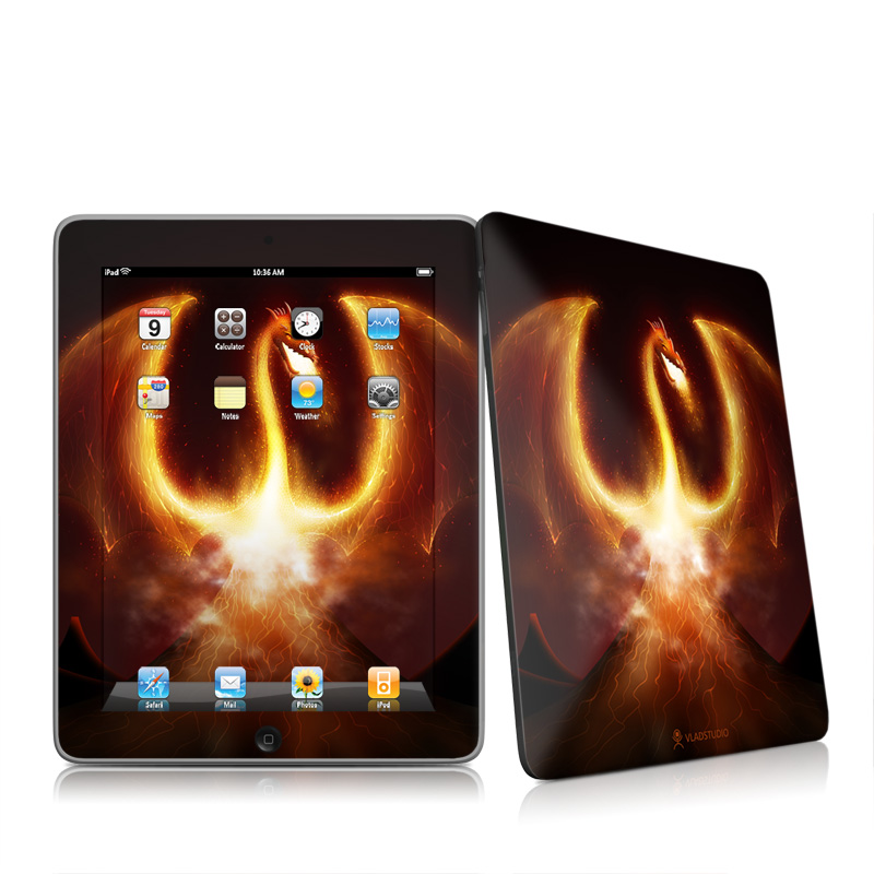 Fire Dragon Apple iPad 1st Gen Skin