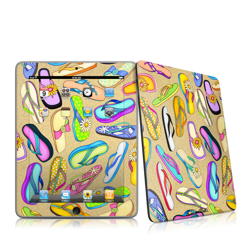 Flip Flops iPad 1st Gen Skin