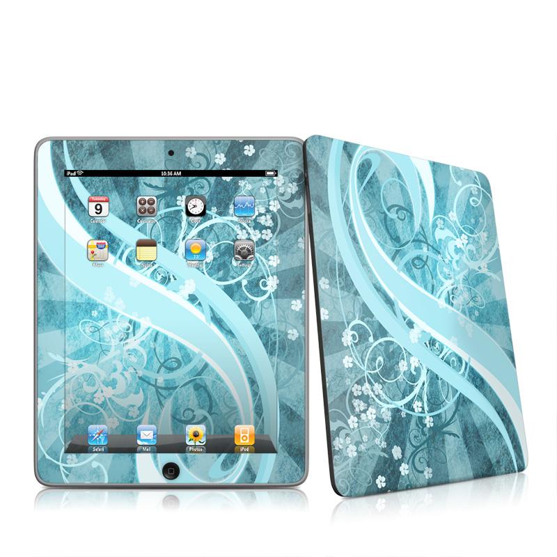 Flores Agua Apple iPad 1st Gen Skin