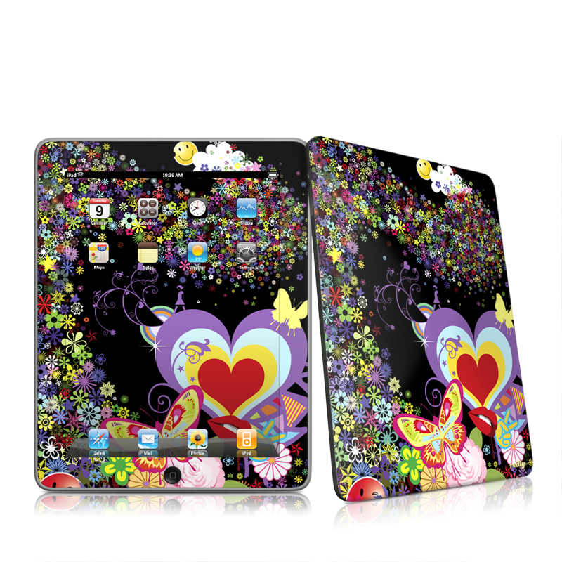 Flower Cloud Apple iPad 1st Gen Skin