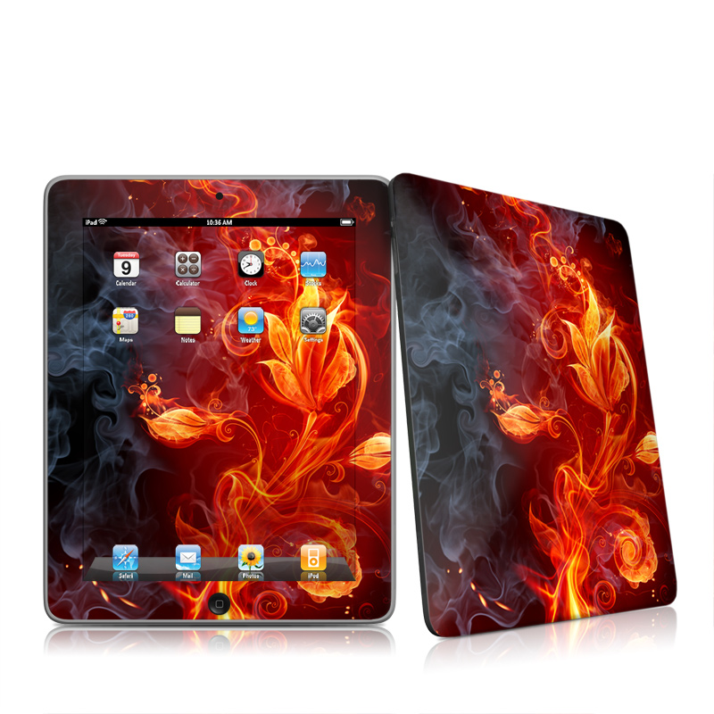 Flower Of Fire iPad 1st Gen Skin
