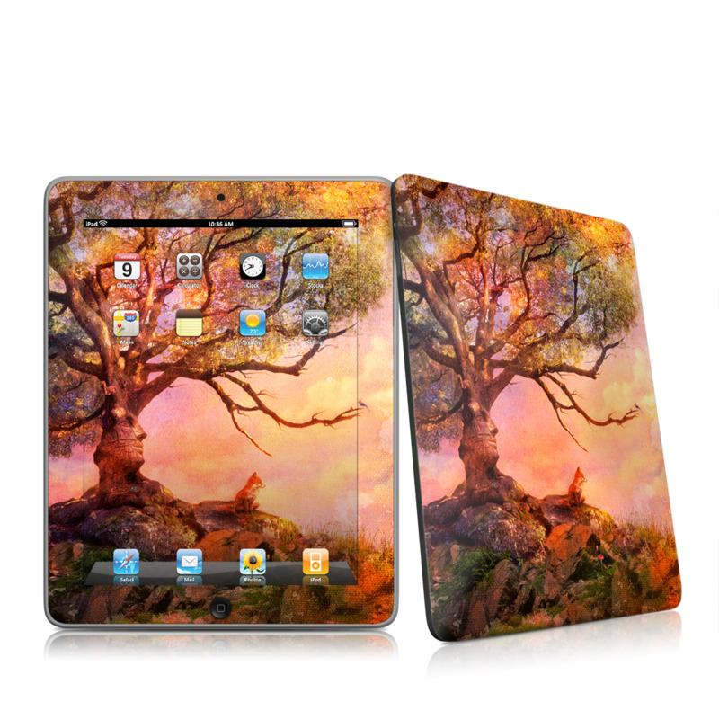 Fox Sunset Apple iPad 1st Gen Skin