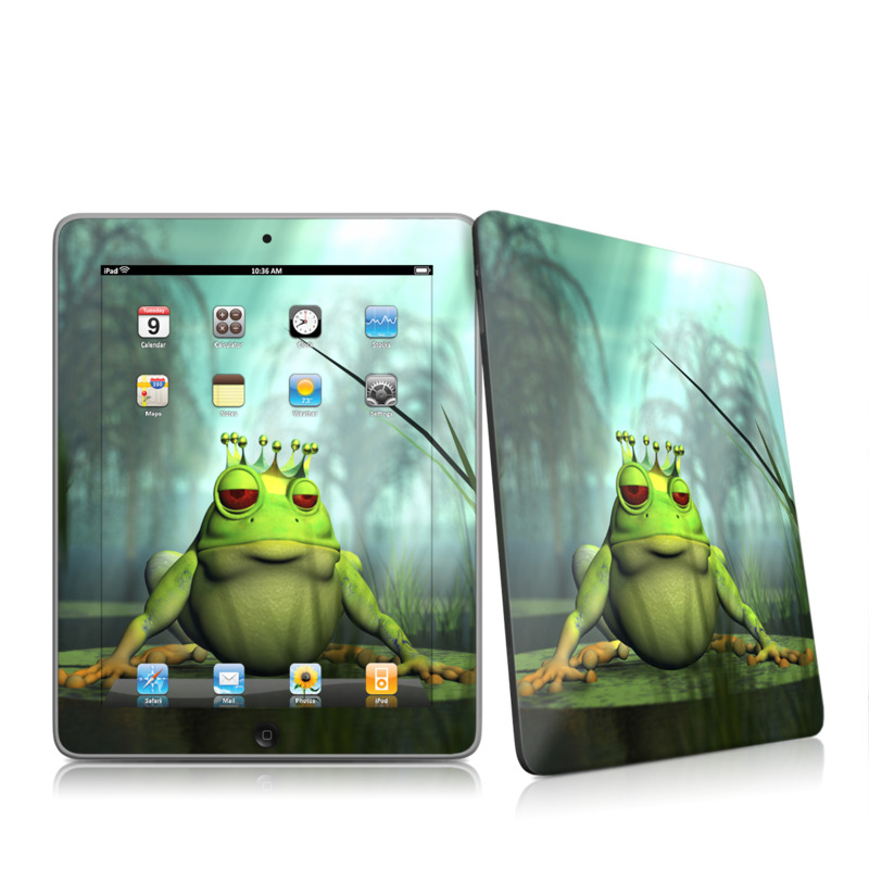 Frog Prince Apple iPad 1st Gen Skin