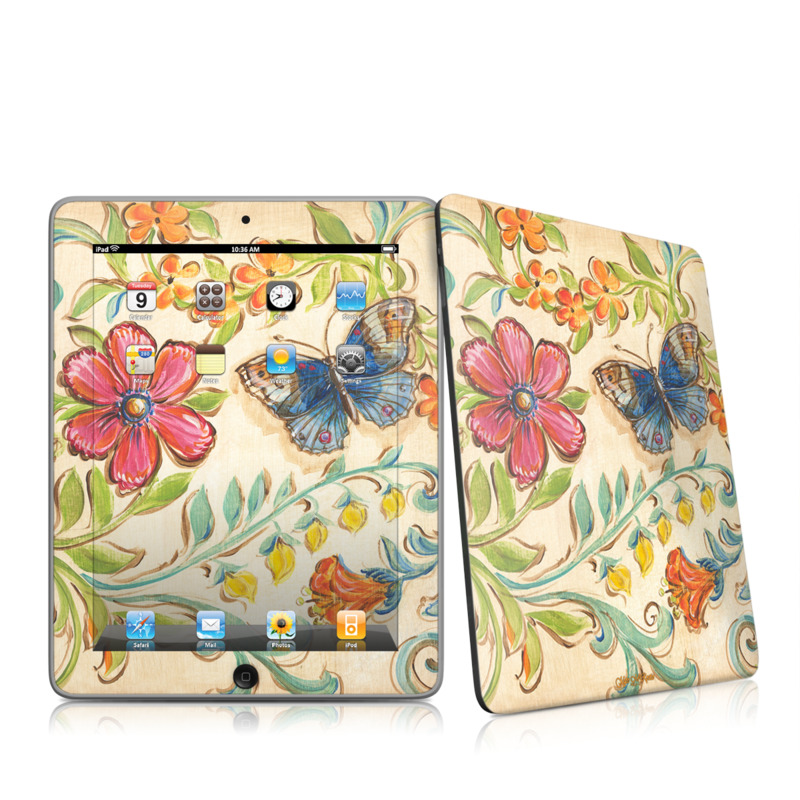 Garden Scroll Apple iPad 1st Gen Skin