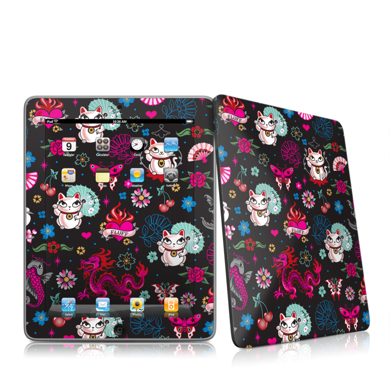 Geisha Kitty iPad 1st Gen Skin
