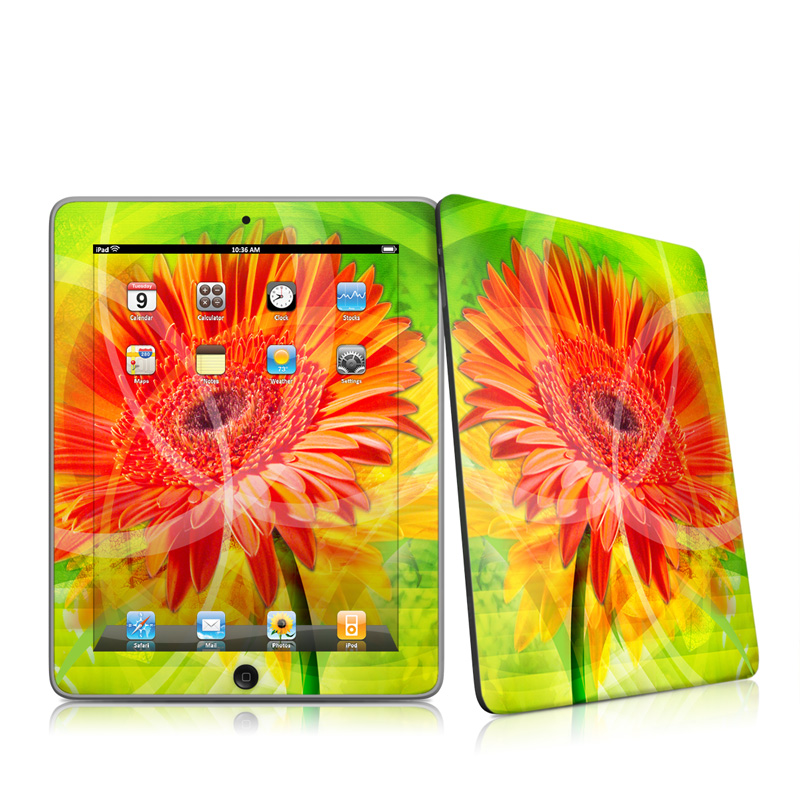 Gerbera Apple iPad 1st Gen Skin