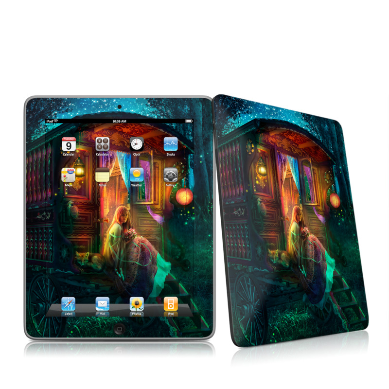 Gypsy Firefly iPad 1st Gen Skin