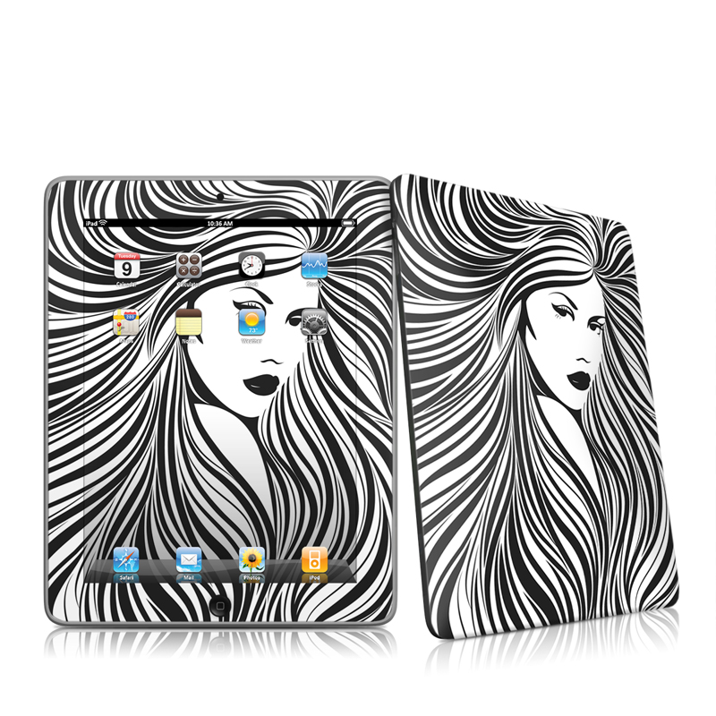 Girl Apple iPad 1st Gen Skin