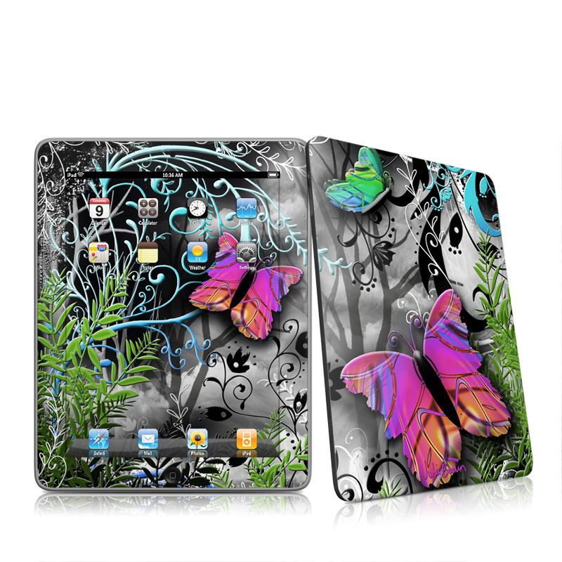 Goth Forest Apple iPad 1st Gen Skin