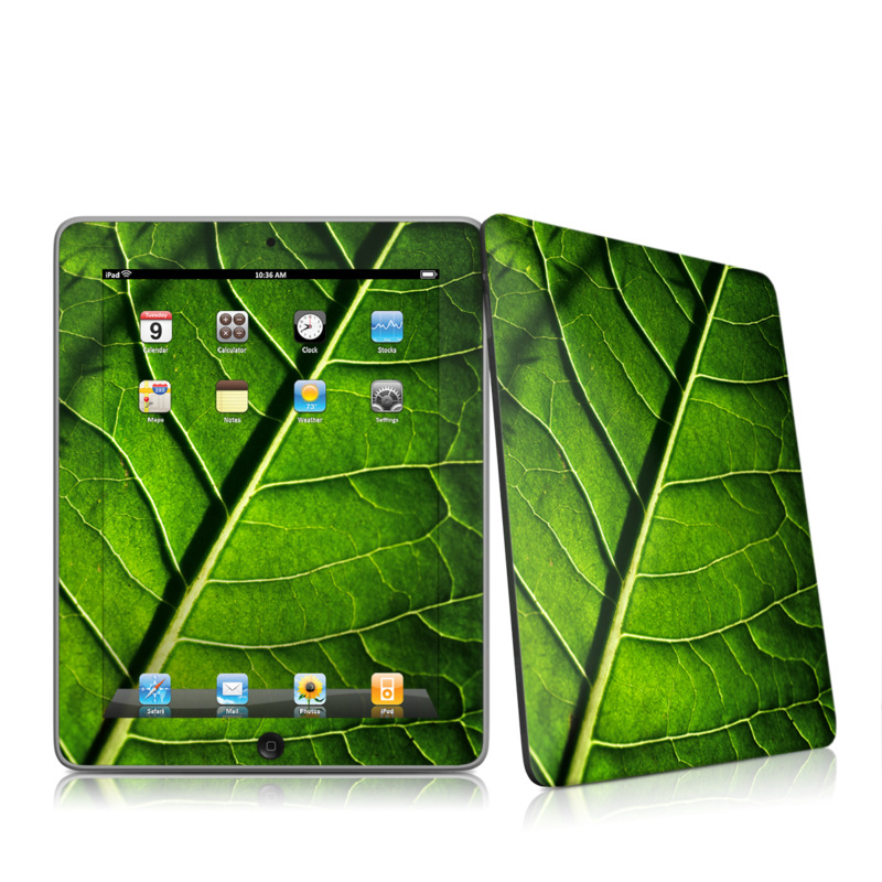 Green Leaf iPad 1st Gen Skin