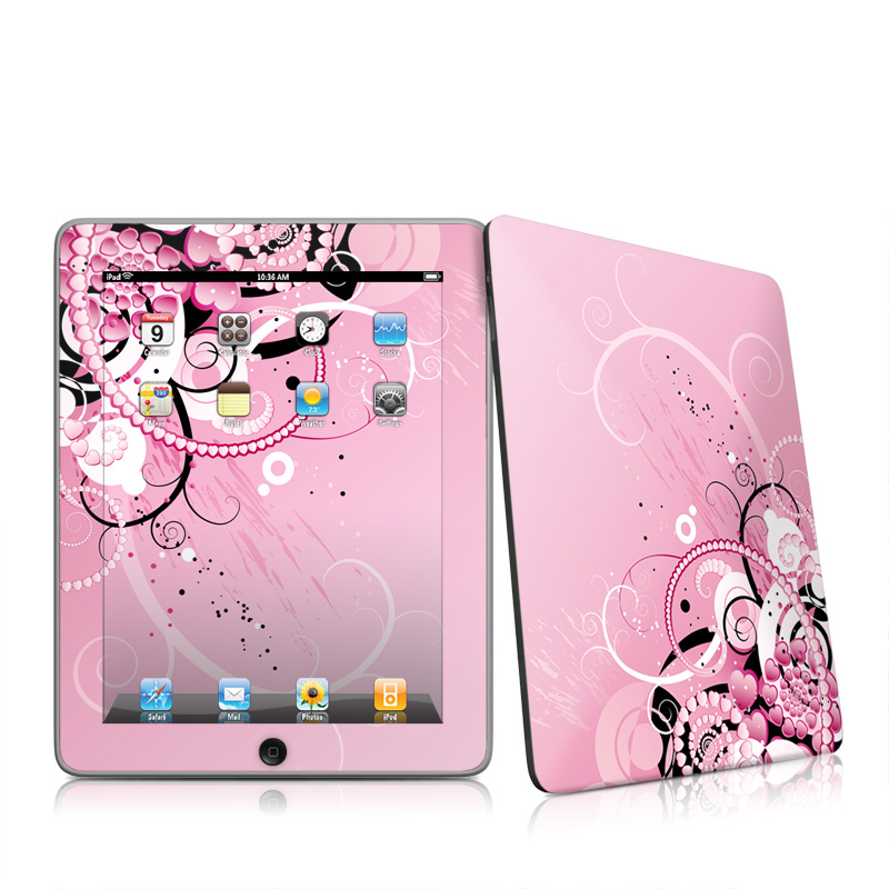 Her Abstraction Apple iPad 1st Gen Skin