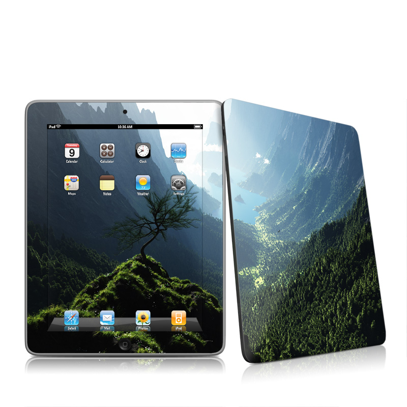 Highland Spring Apple iPad 1st Gen Skin