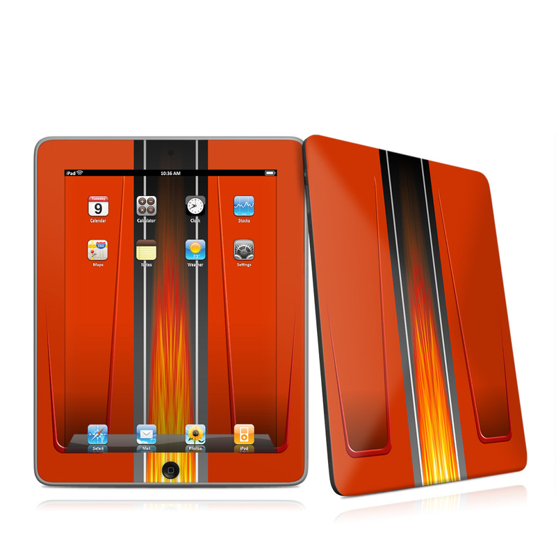 Hot Rod iPad 1st Gen Skin